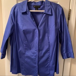 Lane Bryant button-up